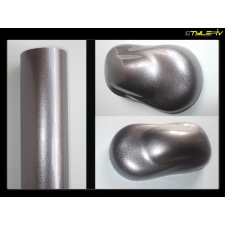 film covering metal diamant gris 152 x 50 cm