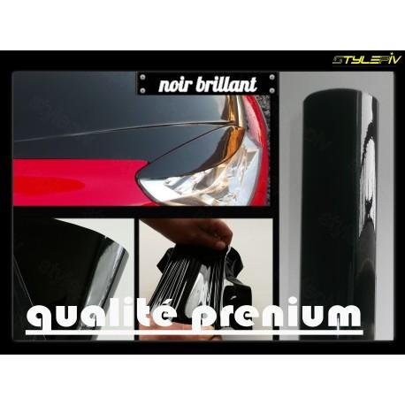 film vinyle covering noir brillant
