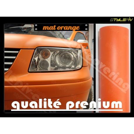 film covering mat orange