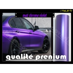 film covering mat chrome violet