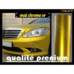 film covering mat chrome or 152 x 30 cm