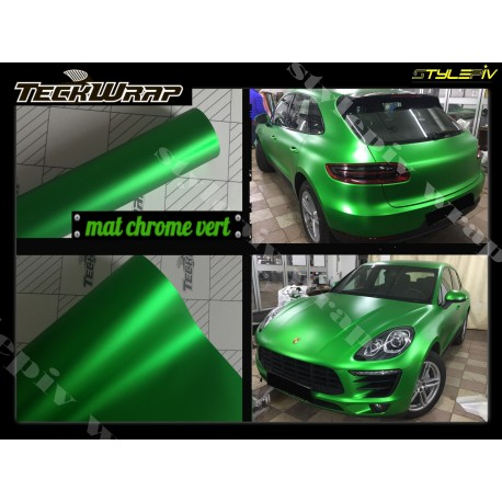 film covering or champagne mat chrome teckwrap
