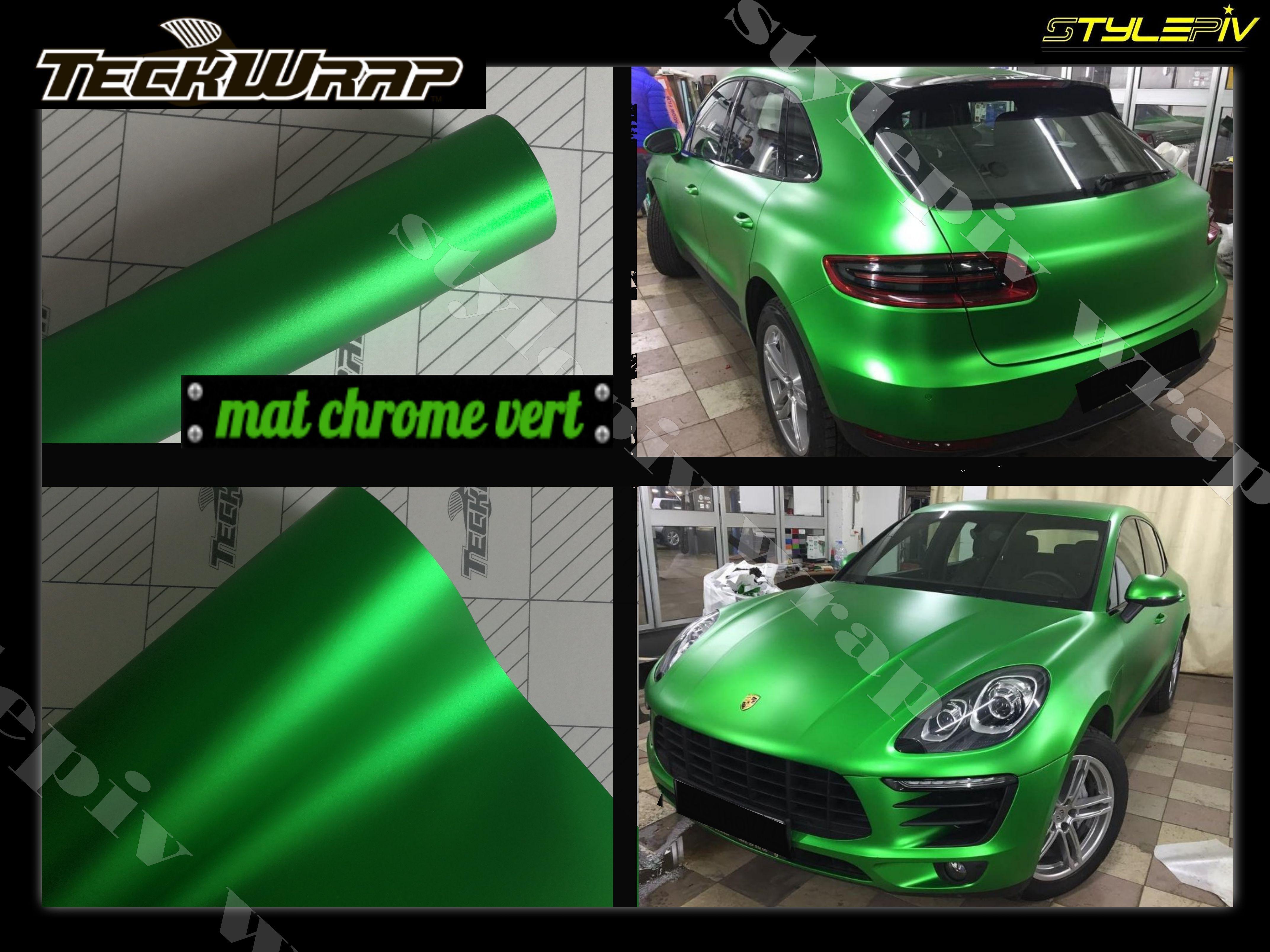 Chameleon Carbone Chrome Mat Brillant Brossé vinyle wrap Changement de Couleur Autocollant Voiture