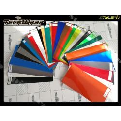 nuancier échantillons TECKWRAP 40 couleurs 100 x 200 mm